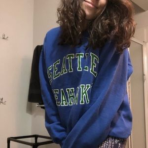 seattle seahawks 🏈 crew sweatshirt